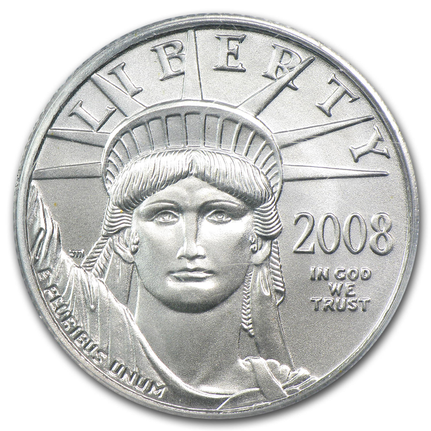 2008 1/4 oz Platinum American Eagle MS-70 PCGS